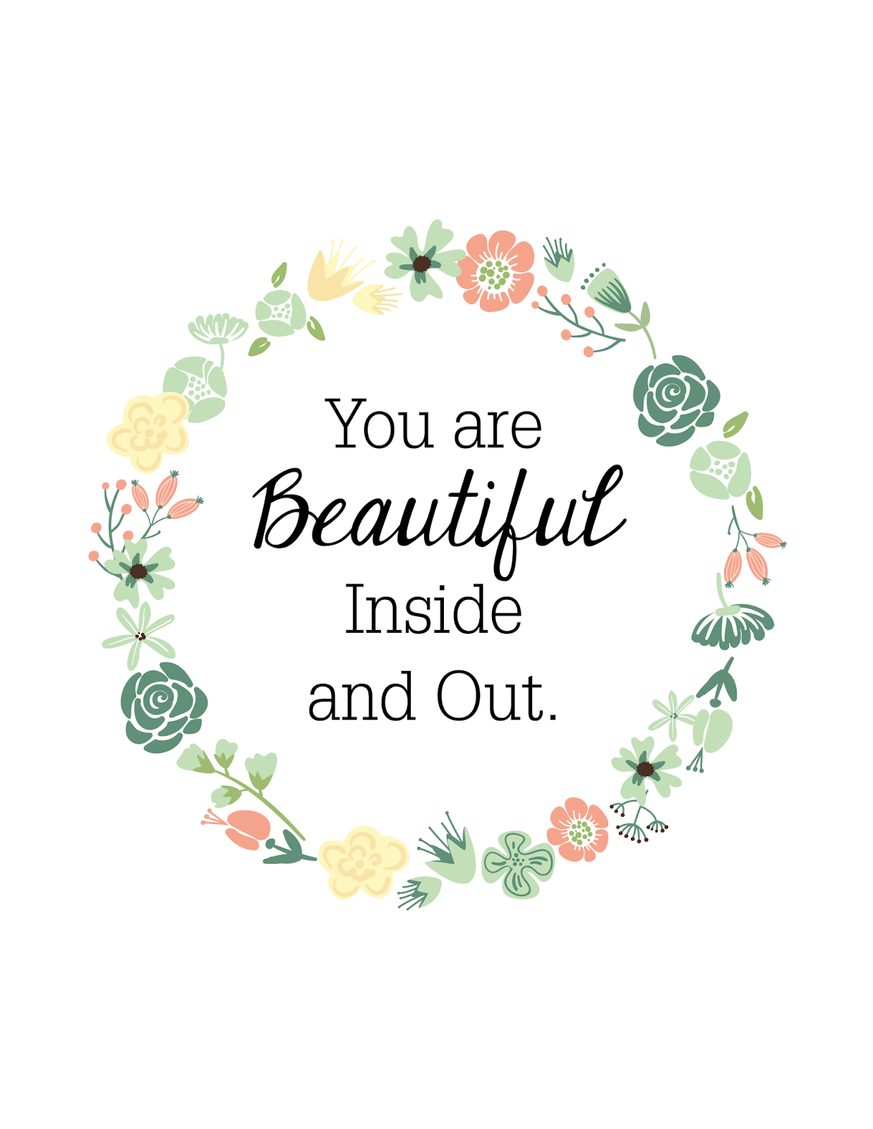 Quotes About Beautiful Inside And Out 30 Quotes