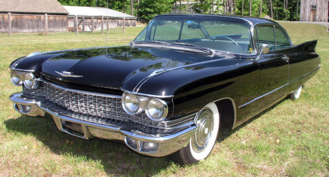 1960 Cadillac Coupe Deville With Original Dealer Invoice ...