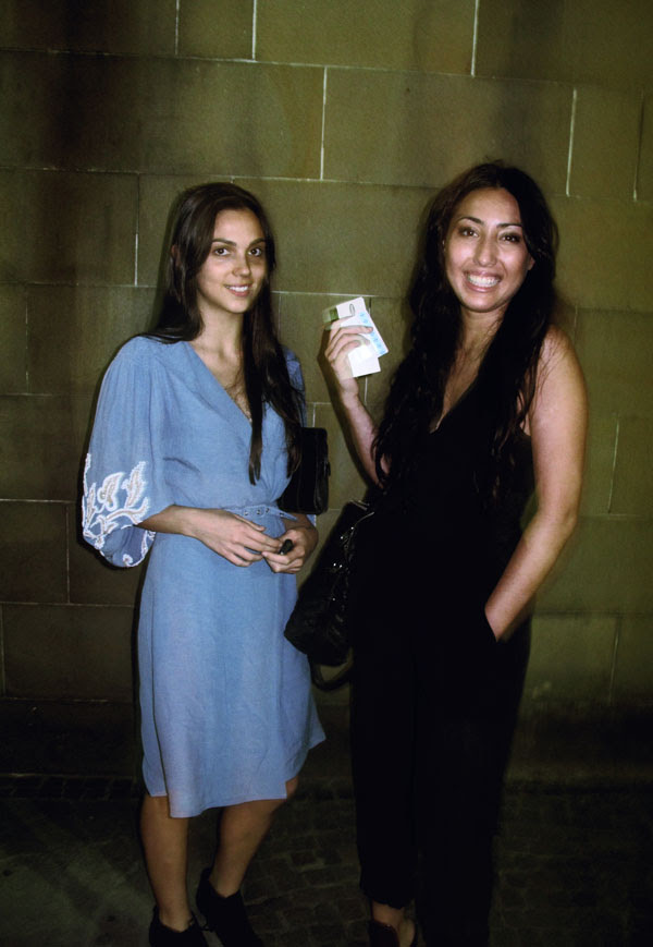 Blue Dress, Beck's Bar at Hyde Park Barracks, Sydney Festival