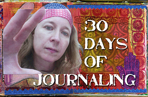 30 days of art journalling