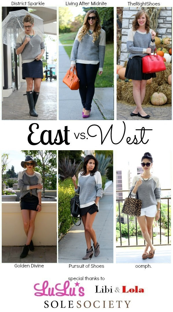 Living After Midnite: East vs. West Style: Chunky Knits