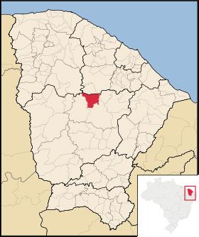 Localização de Madalena