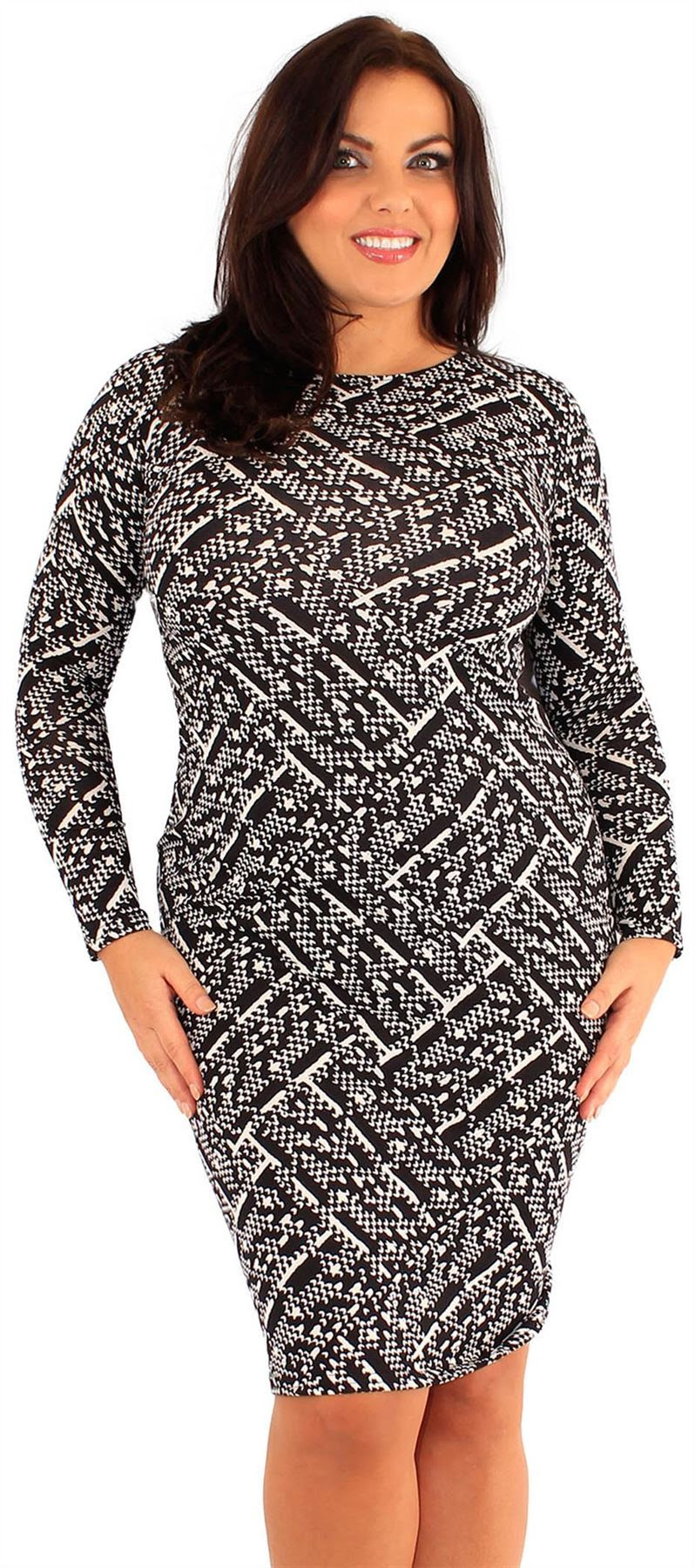 Dress size plus bodycon long dresses street