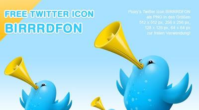 Free pixey birrrdfon twitter icons