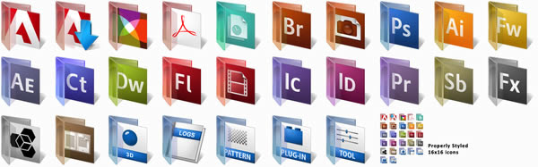 Creative Suite Replacement Icons