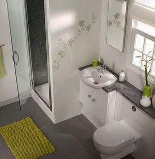 Decoração parágrafo Banheiros Pequenos