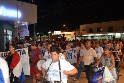 """Resultado de imagen para """"Indignados"""" de Concepción piden renuncia de autoridades"""