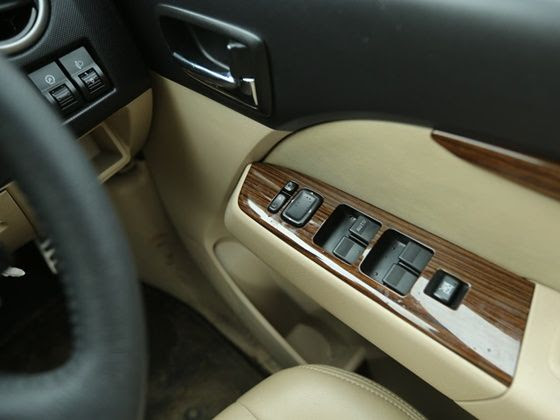 Ford Endeavour India facelift power windows
