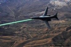 raggio laser aerei usa