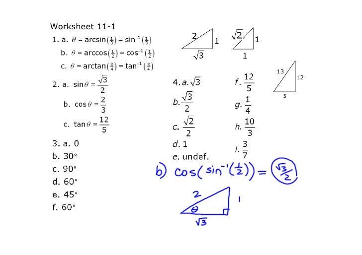 Lsn 112: Solving Trig Equations