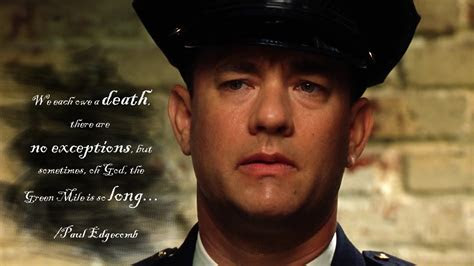 Green mile quotes the percy 100+ Dean