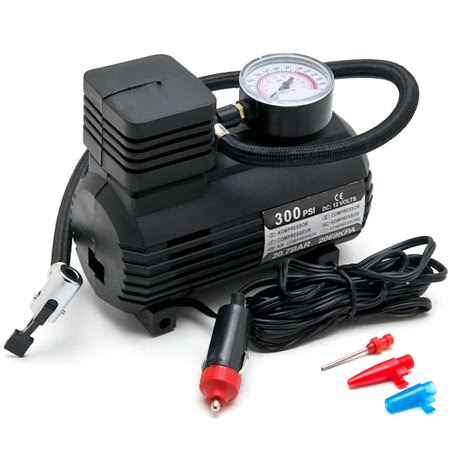 Biltek New Portable Mini Air Compressor Electric Tire Inflator Pump 12 Volt Car 12v Psi