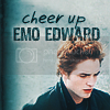 cheer up emo edward Pictures, Images and Photos