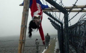 Felani was shot dead by Indian BSF on border and her body was hanging on the wire