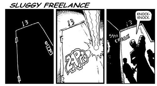 Sluggy Freelance: Dynamic Entry by you.