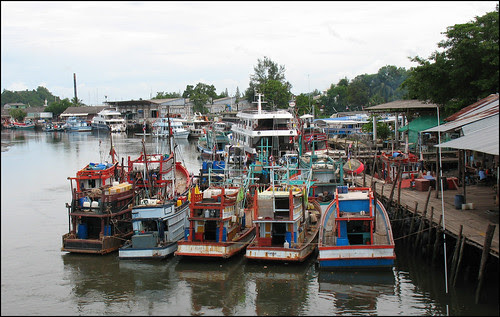 Siray Island, Fishing Port