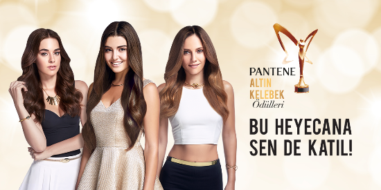 PANTENE ALTIN KELEBEK ÖDÜLLERİ'NE GERİ SAYIM HEYECANI BAŞLADI!