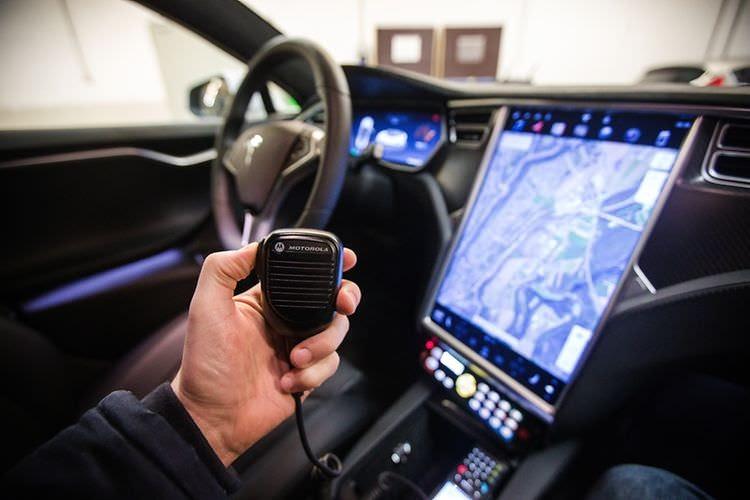 Car Interior Tesla