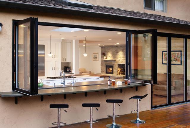 Boulder indoor/outdoor living remodel - mediterranean - patio ...