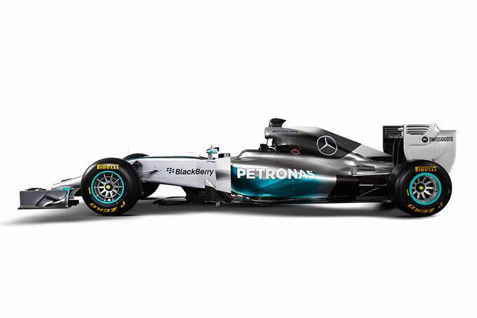 Mercedes AMG F1 W05 - Apresentação Jerez 2014
