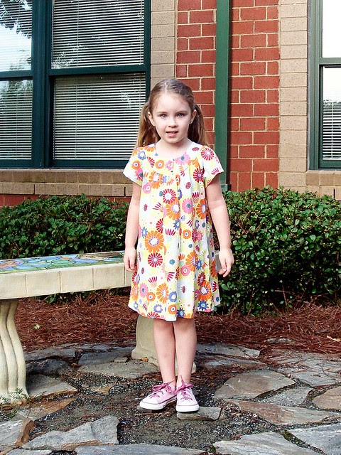 piper's first day of kindergarten
