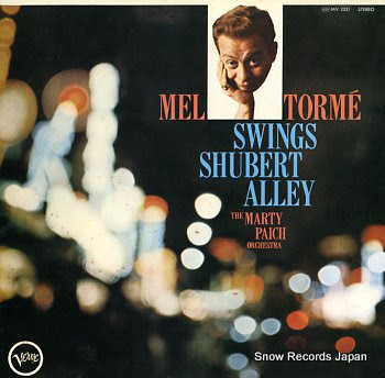 MEL TORME swings shubert allay