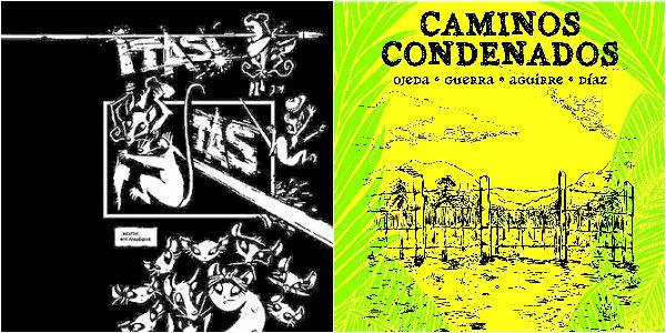'Los once' y 'Caminos condenados', los textos colombianos.