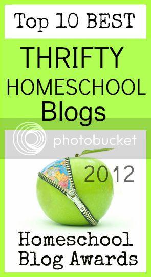 Top Ten Thrifty Homeschool Blogs @hsbapost