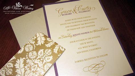 Damask Theme Designs ? A Vibrant Wedding
