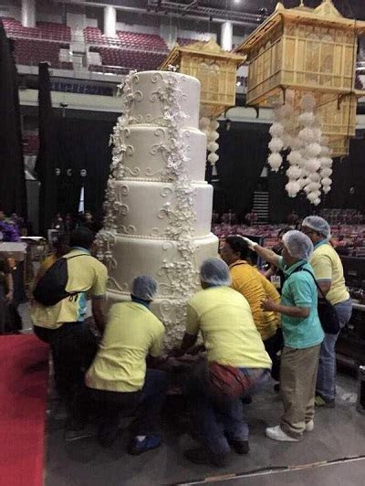 World?s Biggest Wedding Cake? How Many Guests Would It