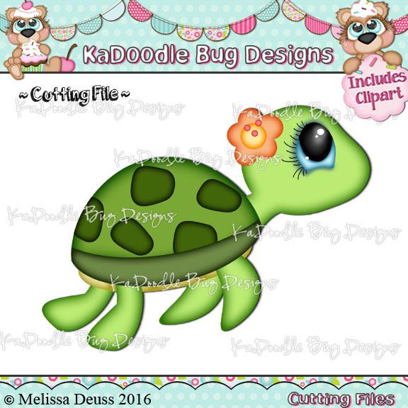 Cutesy Sea Turtle