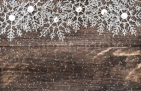 Christmas decoration snowflakes with     Stock Photo