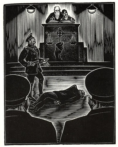 Graphic Novel illustration by Lynd Ward a