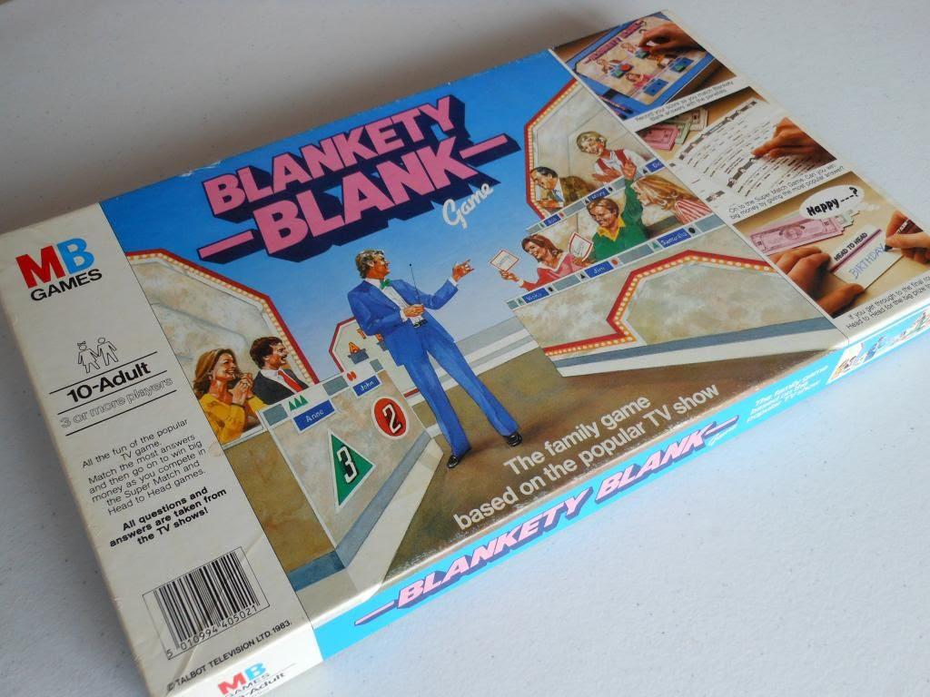 Blankety Blank board game