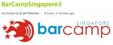 BarCamp / BarCampSingapore3