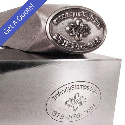 Infinity Stamps, Inc. - Custom Steel Hand Stamp for Metals ...