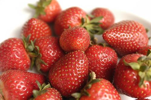 strawberries in April
