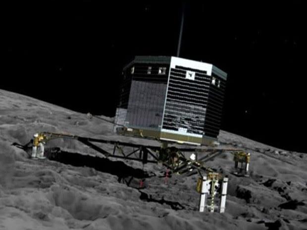 Robô estará a 509 milhões de quilômetros da Terra ao tentar a aterrissagem (Foto: BBC)