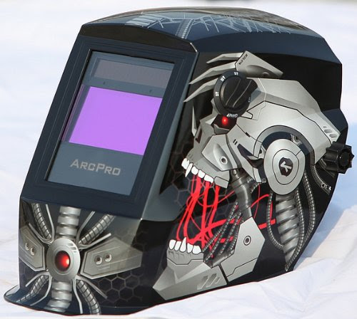 Arcpro 20704 Solar Powered Auto Darkening Welding Helmet