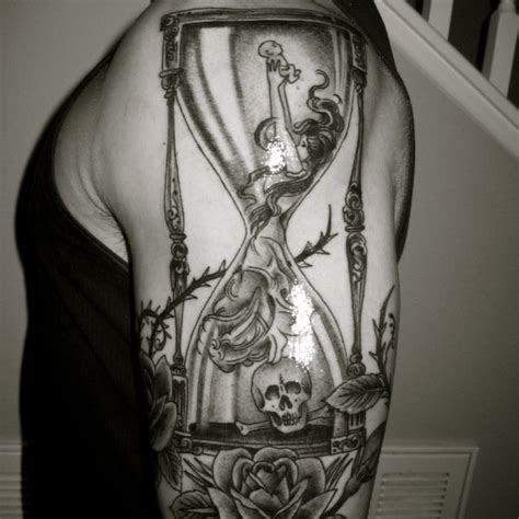 complex hourglass tattoo  hourglass arm tattoo
