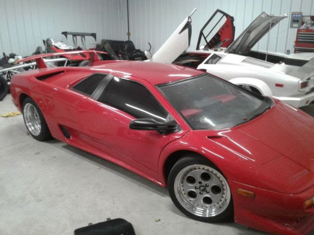 Dnr Replica Stretched Fiero Lamborghini Diablo Kit Car