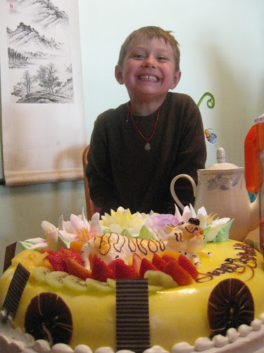 Zekey's 5th birthday party