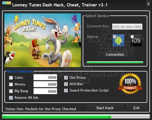 Cheat Looney Tunes World of Mayhem hacks ... - cheat-on.com