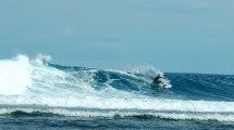 Pantai Tanjung Setia di Pesisir Barat, Lampung (Foto: wisatapesisirbarat.blogspot.co.id)