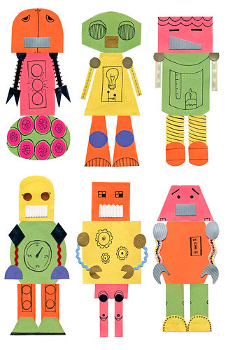robots, in my fabric?