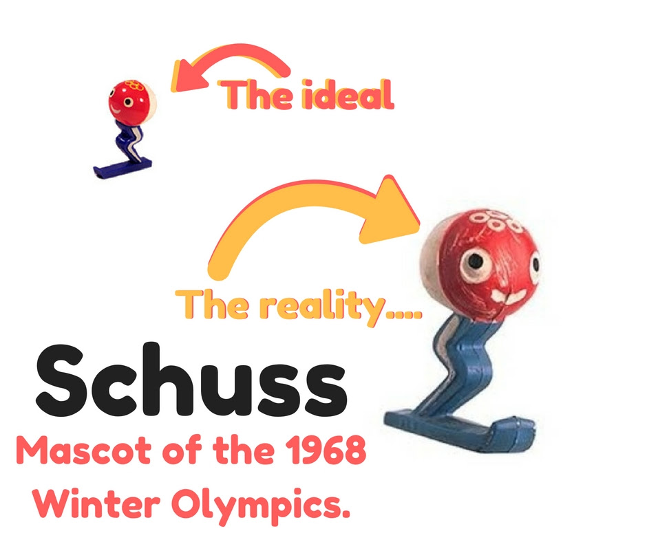 Schuss, 1968 Winter Olympics Mascot
