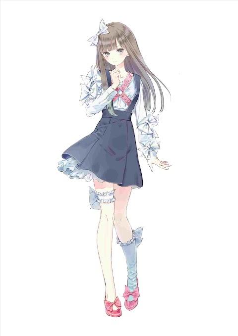 Anime Girl Full Body