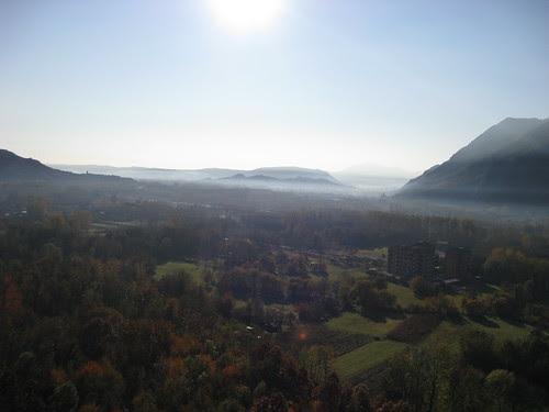 La valle Susa vista dalla Ferrata