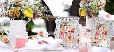 unique wedding table numbers vintage photo frame   UK