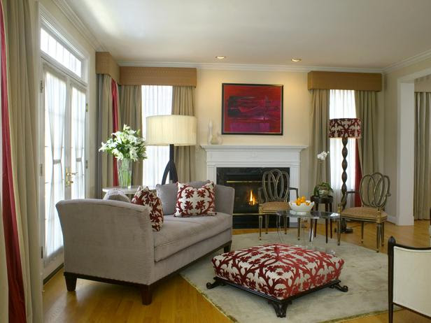 living room with insert fire window to front aspect | My ...